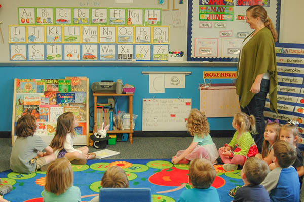 Three-Year-Olds half-day preschool classes