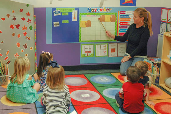 Two-Year-Olds half-day preschool classes