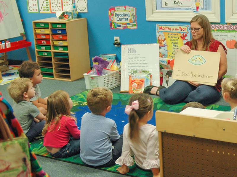 Sea Island Presbyterian Day School Preschool Classroom